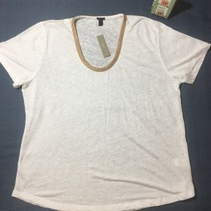 NWT J CREW TOP XL